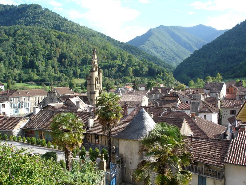 H tel le valier saint girons ari ge vue village alentours tourisme balades et magnifiques - Office tourisme st girons ...